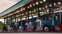 Trucks refuel