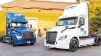 Daimler eCascadia Truck