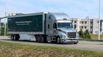 DTNA test truck