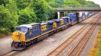 CSX double-stack train