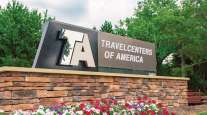 TravelCenters of America headquarters sign