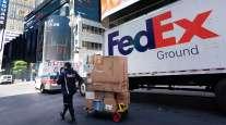 FedEx Freight truck