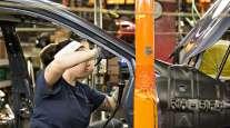 Subaru factory worker