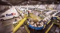 FedEx package facility