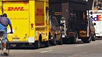 DHL and UPS