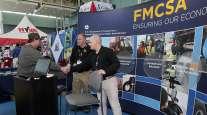FMCSA booth at MATS 2018