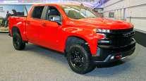 A 2020 Chevrolet Silverado 1500 truck
