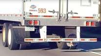 A trailer underride guard