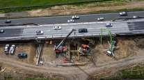 Highway 101 construction