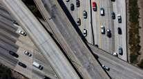 Highway traffic Los Angeles