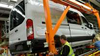 Ford van assembly
