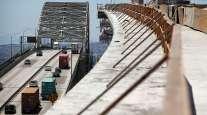 Gerald Desmond Bridge and replacement in Long Beach, Calif.