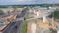 I-95 interchange project in Pennsylvania