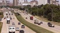 Iowa highway traffic