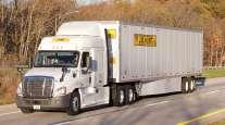 J.B. Hunt truck on highway
