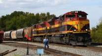 Kansas City Southern train