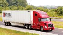 A Knight Transportation truck