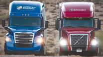 Knight-Swift Transportation trucks