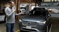 Levandowski, while he was still head of Uber's self-driving program