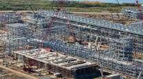 Cheniere Energy's LNG terminal in Sabine Pass, La.