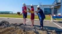 Groundbreaking at Long Island MacArthur International Airport