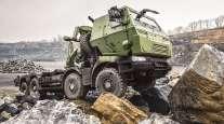 Mack defense vehicle
