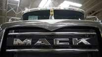 Mack truck grille