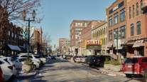 Downtown Sioux Falls, S.D. (Dan Brouilette/Bloomberg News)