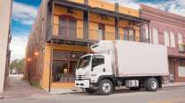 Medium-duty Isuzu truck