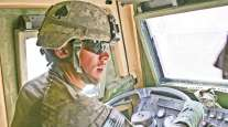 Military driver