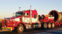 A Mullen heavy-haul truck.
