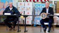 New Jersey Gov. Phil Murphy with President Joe Biden