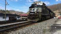 A Norfolk Southern coal train