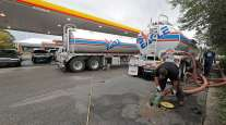 Gas delivery to convenience store