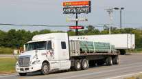 PGT truck on highway