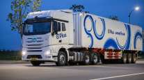 Plus truck with Goodyear tires