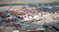 Aerial view of Port Savannah