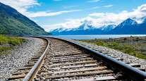 A railroad in Alaska