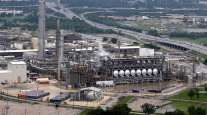 Flint Hills Resources oil refinery near downtown Houston