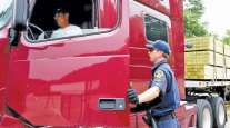 Roadcheck driver inspection