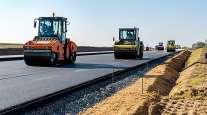 Road construction in North Carolina