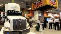 Rush Truck Centers exhibit at TMC 2017