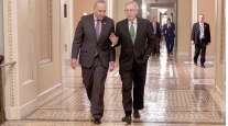 Chuck Schumer and Mitch McConnell