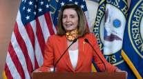 House Speaker Nancy Pelosi speaks during a news conference Sept. 24.