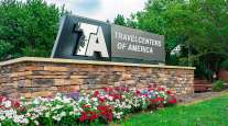 TravelCenters of America sign