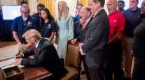 Trump signs the workforce executive order