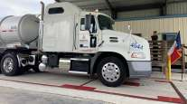 New truck inspection station in Seguin, Texas