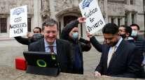 UK Uber drivers