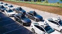 Uber self-driving fleet