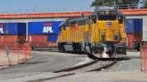 Union Pacific intermodal train